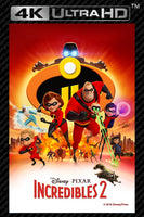 The Incredibles 2 4K UHD Vudu