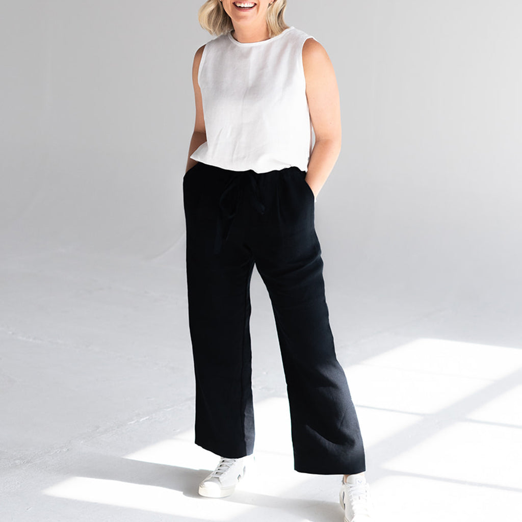 'Maxwell' Linen Trousers
