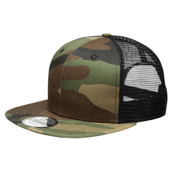 Camo/Black. New Era 9FIFTY Mesh Snapback
