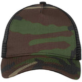 Camo/Black New Era 9FORTY Trucker Snapback Mesh