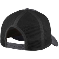 Graphite/Black New Era 9FORTY Trucker Snapback Mesh