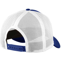 Royal/White New Era 9FORTY Trucker Snapback Mesh