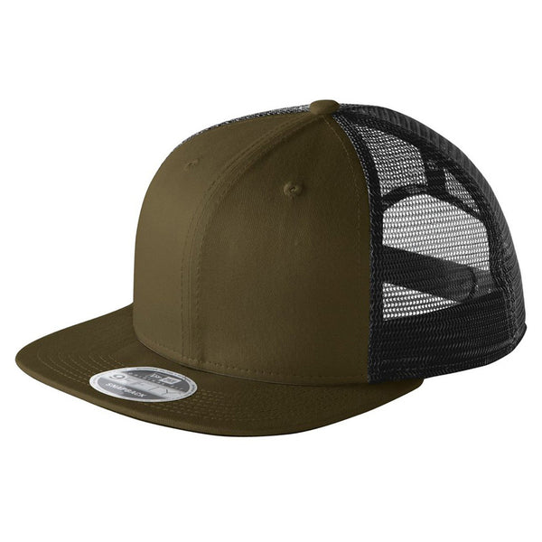 Olive/Black. New Era 9FIFTY Mesh Snapback
