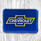 Chevrolet Yellow/Blue Vintage Patch