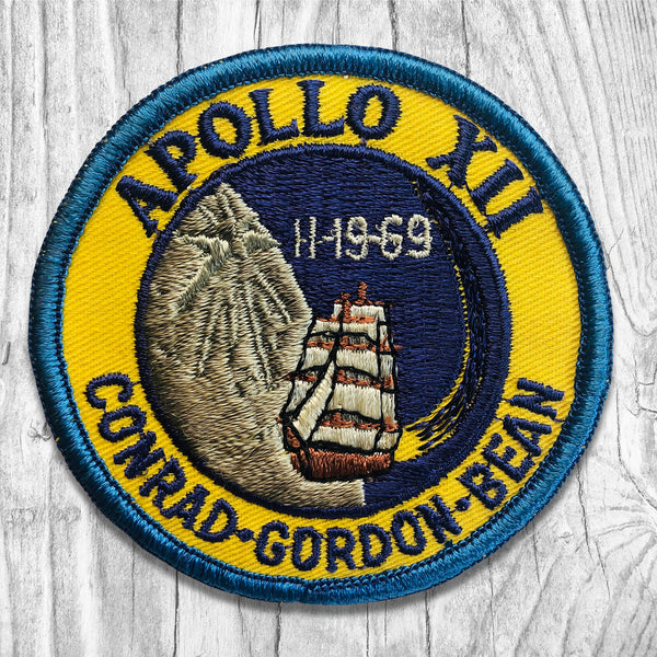 Apollo 12 - Conrad • Gordon • Bean. Vintage Patch