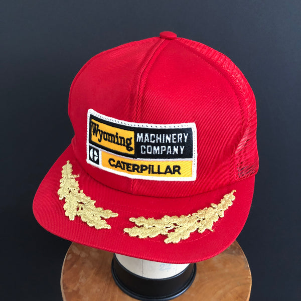 Caterpillar - Wyoming Machinery Company. Vintage Snapback By Swingster