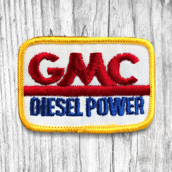 GMC Diesel Power Vintage Patch.