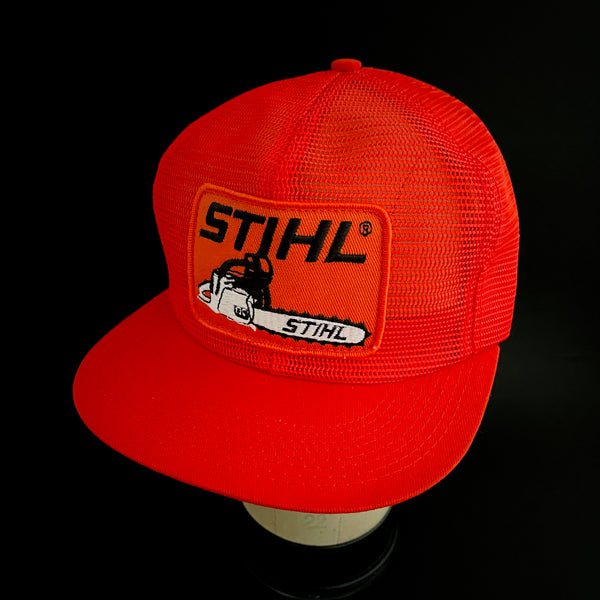 Stihl Chainsaw Vintage K-Products Full-Mesh Trucker Snapback