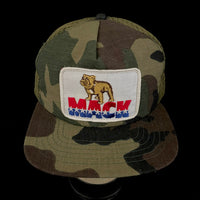Mack Trucks Vintage Patch + New Era Camo Trucker
