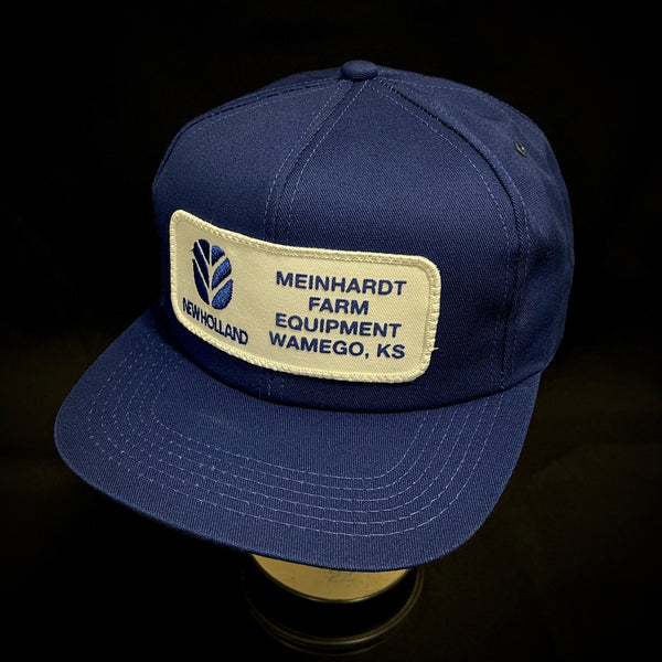 NEW HOLLAND. MEINHARDT FARM EQUIPMENT. WAMEGO, KS. K-Products Vintage Trucker