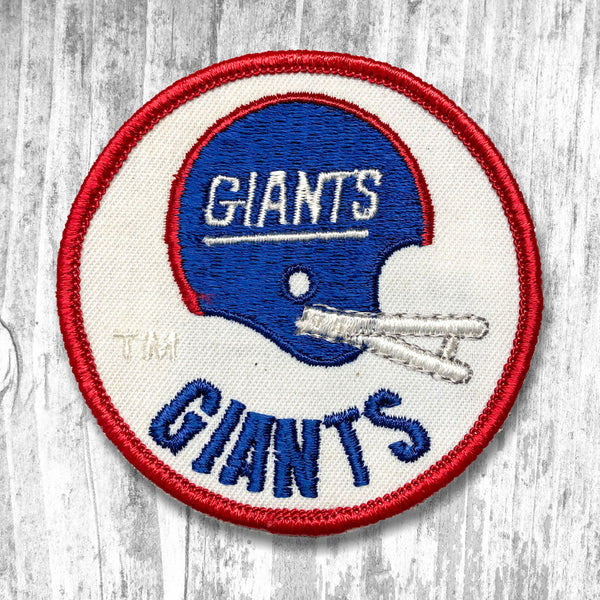 New York Giants Vintage Patch