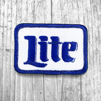 Lite Beer Vintage Patch