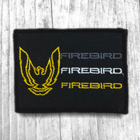 Firebird Vintage Patch :: Flat visor cap only