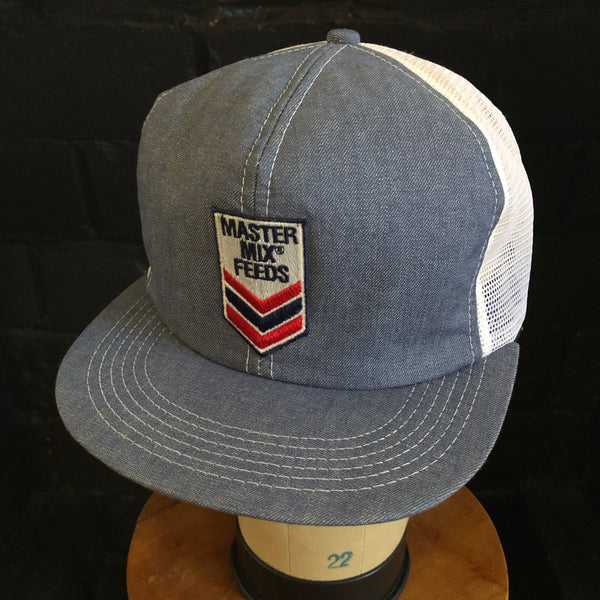 Master Mix Feeds Vintage K-Products Denim Snapback