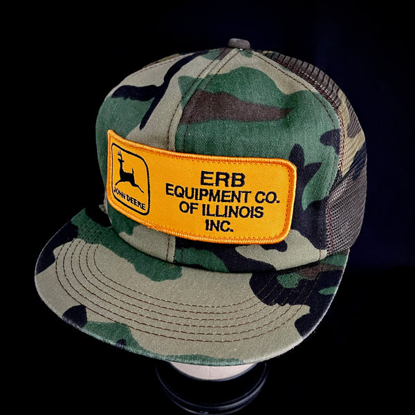 John Deere - ERB Equipment Co. Vintage K-Products Trucker Snapback