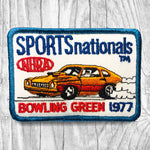 NHRA 1977 Sports Nationals - Bowling Green Vintage Patches