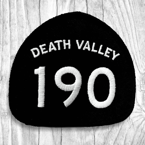 California State Highway 190 - Death Valley. White & Black Patch