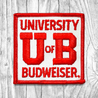 University Of Budweiser Vintage Patch