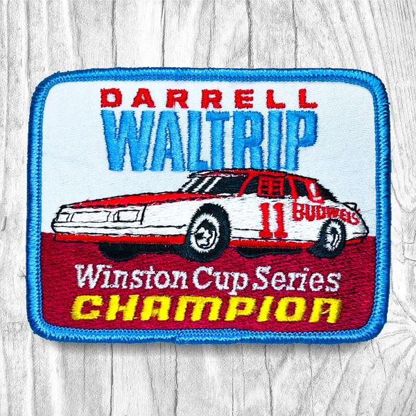 Darrell Waltrip #11 - Winston Cup Series Champion Vintage Patch