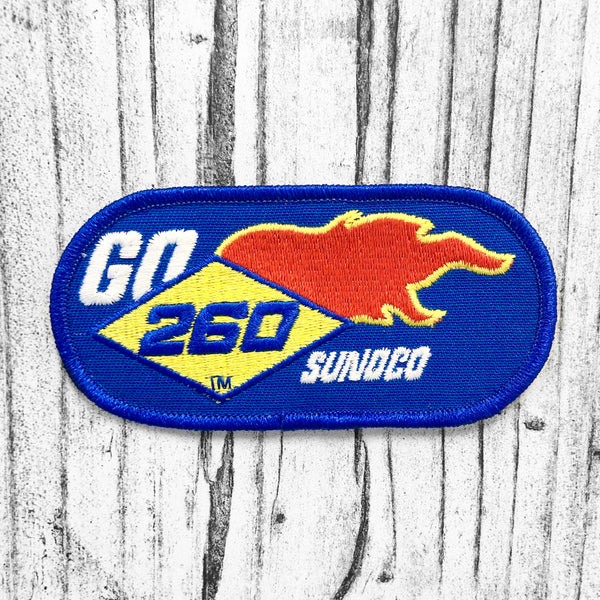 GO SUNOCO 260 Vintage Patch