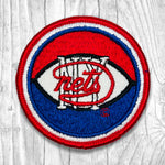 NY Nets - Red Border Vintage Patch