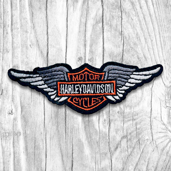 Harley-Davidson Motorcycles Silver Wing Vintage Patch