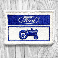 FORD TRACTORS Vintage Patch