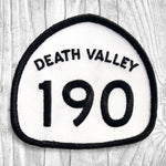 California State Highway 190 - Death Valley. Black & White Patch :: The Lost Highway