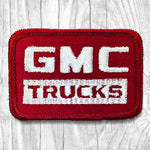 GMC Trucks. Red & White Vintage Patch