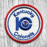 Kentucky Colonels. ABA TEAM - '70 to ''76. Vintage Patch.