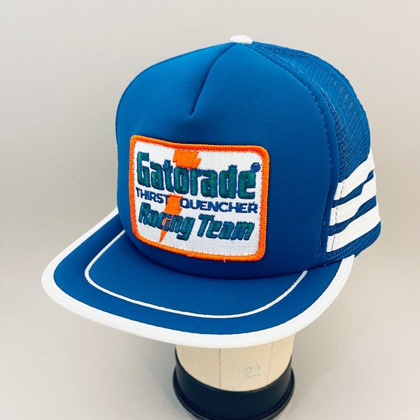 Gatorade Racing Team - 3 Stripe Vintage Trucker Snapback