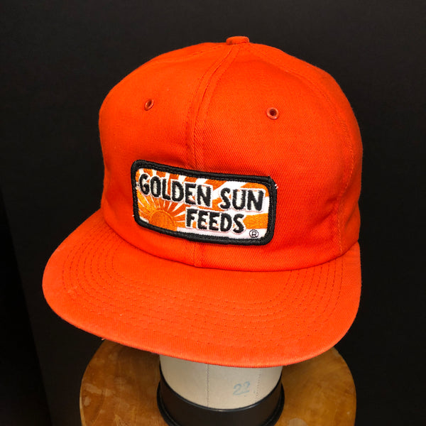Golden Sun Feeds Vintage K-Products Snapback