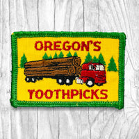 OREGON'S TOOTHPICKS Vintage Patch