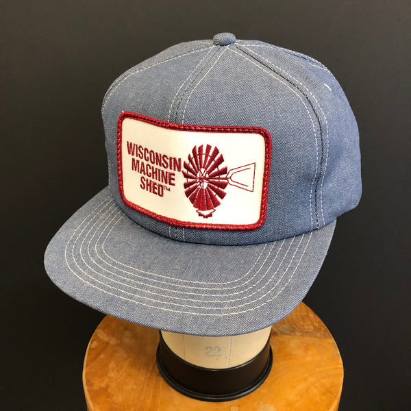 Wisconsin Machine Shed. Vintage K-Products Snapback