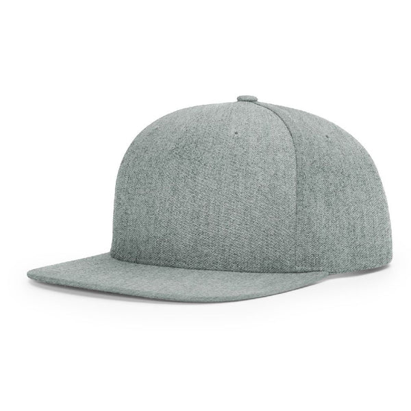 Richardson 255 Heather Grey Pinch Front - Structured Snapback