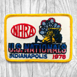 NHRA 1978 U.S. NATIONALS Indianapolis Vintage Patch