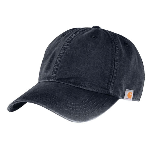 Carhartt Navy Cotton Canvas Cap