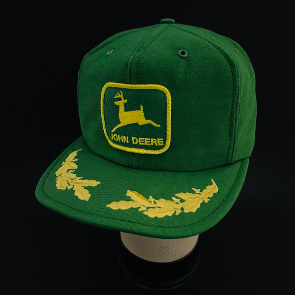 John Deere. Scrambled Eggs Visor. By Louisville MFG. CO. Vintage Snapback