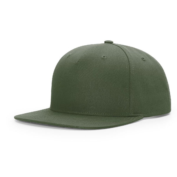 Richardson 255 Army Olive Pinch Front - Structured Snapback