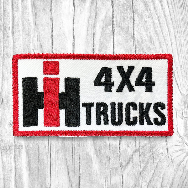 IH 4 X 4 TRUCKS Vintage Patch