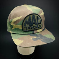 MAC TOOLS. Camo Vintage Trucker By Swingster