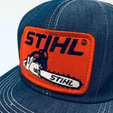 Stihl Chainsaws. Vintage K-Products Trucker