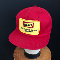 KENT HAZELRIGG GRAIN CO. Vintage K-Products Snapback