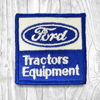 Ford Tractors Equipment Vintage Patch