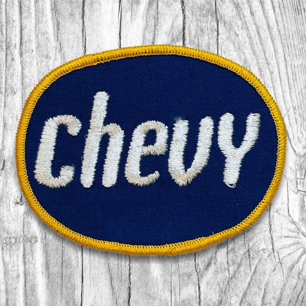 Chevy Oval Vintage Patch