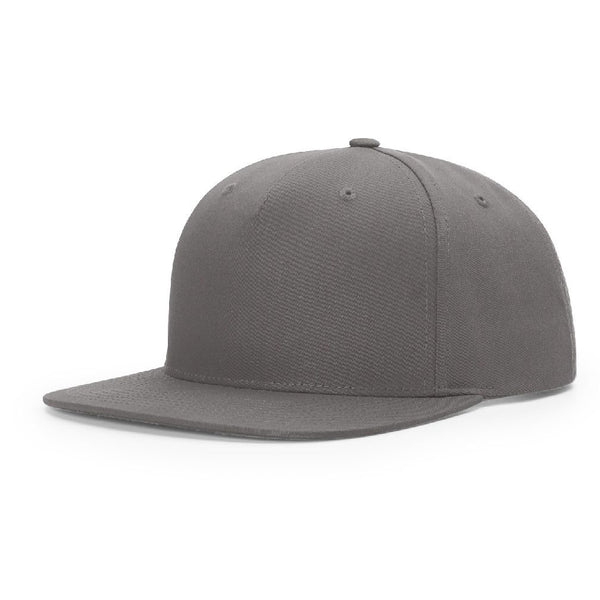Richardson 255 Flint Grey Pinch Front - Structured Snapback