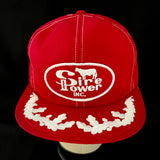 "Sire Power Inc. Vintage K-Products ""Scrambled Eggs"" Trucker Snapback"