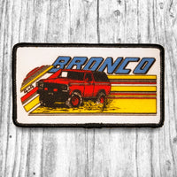 Ford Bronco Vintage Patch. Screen Printed
