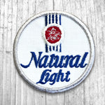 Natural Light Beer Vintage Patch