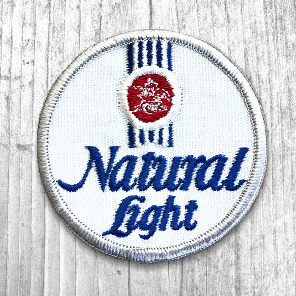 Natural Light Beer Vintage Patch :: Tracked down. ETA: around APR 15